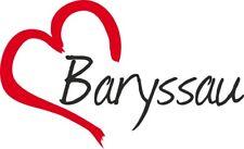 """Auto Aufkleber """" Baryssau """" Sticker Weißrussland ca.9x15cm konturgeschnitten"""