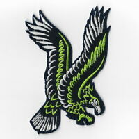 Seattle Seahawks Iron on Patches Embroidered Badge Patch Applique Emblem Fly FN