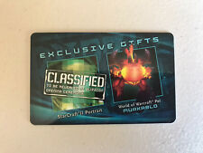 BLIZZCON 2011 WoW World of Warcraft MURKABLO Pet Loot Card Code - UNUSED