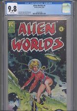 Alien Worlds #4 CGC 9.8 1983 Pacific Dave Stevens Cover, Al Williamson Art