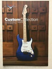 CATALOGUE  FENDER   2014   guitares  FENDER CUSTOM COLLECTION  Neuf