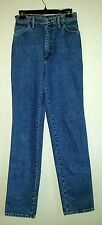 Nice WRANGLER Blue Jeans Juniors?? Size 7/8 36 Long Made in USA - W:28 X 36 L