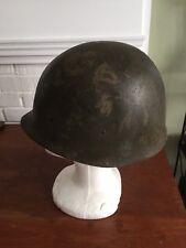 Original~~US WWII M1 Helmet Liner Firestone Manufacture~~Vintage Military