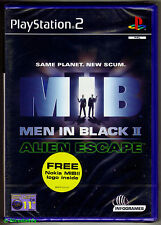PS2 Men In Black II 2: Alien Escape (2002), UK Pal, New & Sony Factory Sealed