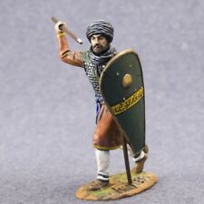 FATIMID INFANTRY saracen warriors 54mm Metal Toy Soldiers Knight 1/32 Painted