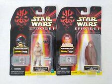Star Wars Anakin Skywalker Figure Bundle Naboo & Pilot Figs with Commtech Chips