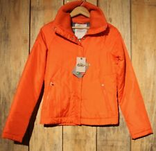NIKE 6.0 Women's Orange Zip Up Jacket Size XS Thermore New With Tags Very Nice +