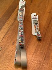 New listing Bob Sketcher Wag Party Dog Lead 6 Ft Long And Collar Size Small Set