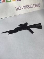 Vtg G.I. Joe 1986 Zander S5 V1 Black Spear Gun Harpoon Rifle Weapon