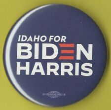 "2020 Joe Biden /& Kamala Harris 3/"" // /""Silhouette/"" Campaign Button Large Pin26L"