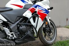 Honda CBR 250 R Engine Radiator Guard Crash Bars Black Mmoto MM14