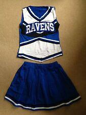Donna Costume da Cheerleader-FULL costume. Taglia M (8-12)