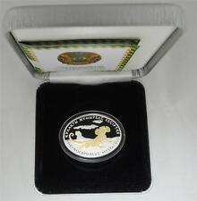 2010 500 Tenge Fauna of Kazakhstan EARED TOAD AGAMA OVAL PR SILVER COIN+BOX+COA