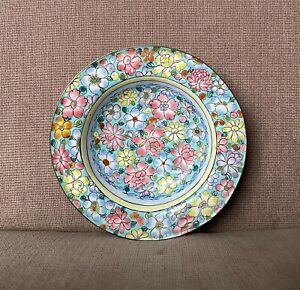 Rare 19th Century Antique Chinese Canton Enamel Millefleur Export Bowl