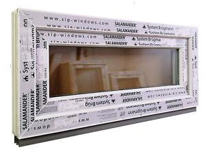 Kunststofffenster Fenster Salamander, 90x40 cm bxh, weiß