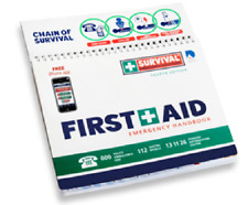 First Aid Kit    Emergency Handbook    Charity Fundraising for CLS