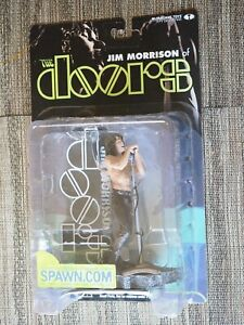 JIM MORRISON THE DOORS THE LIZARD KING 2001 MCFARLANE FIGURE ~ RARE, OOP! NIB