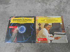 LEONARD BERNSTEIN-2 LP'S-THE AGE OF ANXIETY-FOSS--SONGFEST-DG 2530969/2531044-NM