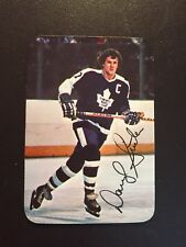 1977-78 OPC O-Pee-Chee Glossy Hockey Insert Darryl Sittler #20 NM-MT Maple Leafs