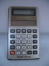 Radio Shack Solar Power Calculator; Sell for Charity