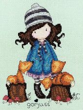BOTHY THREADS  XG5  THE FOXES  GORJUSS  Counted  Cross Stitch  Kit