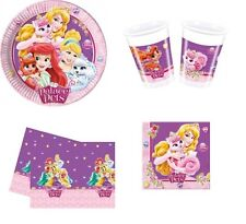 KIT COMPLEANNO PALACE PET PRINCIPESSE DISNEY FESTA BAMBINA PIATTI PARTY N.16