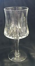 "Royal Doulton Crystal ""Sonnet"" Pattern Wine Glass 6 7/8"""