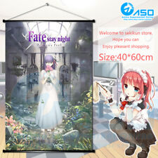 Anime movie Wall Scroll poster Fate stay night Heaven's Feel Home Decor Gift