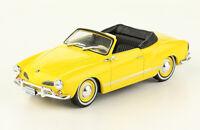 VW Volkswagen Karmann Ghia Convertible 1960 Rare Diecast Scale 1:43 + Magazine