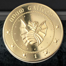 Harry Potter Gringotts Galleon Coin, Wizarding World, Noble, Cosplay, Hogwarts
