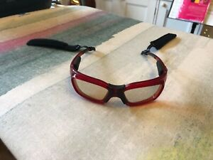 Leader Kids Red Sport Glasses