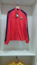 Barcelona Nike orange soccer long sleeve training jacket M size.