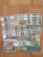 PAPIERGELD WELT - LOT  32 Geldscheine