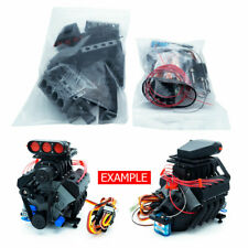DarkDragonWing 1/10 RC OHV V8 H SC RD Engine Unpainted Kit