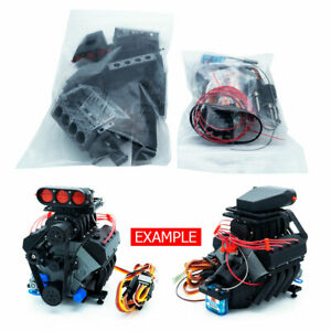DarkDragonWing 1/10 RC OHV V8 H SC RD Engine Kit