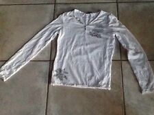 Tee Shirt A Manches Longues DDP Taille 12/14 Ans Pour Fille