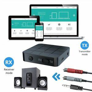 2in1 AUX Bluetooth v5.0 Stereo Audio Transmitter Empfänger Musik Adapter Sender