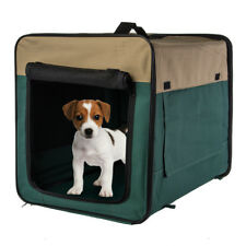 Portable Folding Fabric Pet Crate Soft Sided Dog Kennel Small Medium Puppy Cats