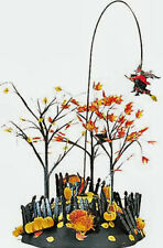 Department 56 Snow Village Halloween Up Up&Away Witch 56.52711 (Retired 2003)Nib