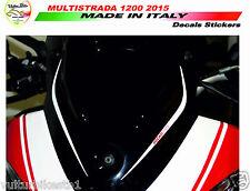 Kit adesivi per plexi Ducati multistrada 1200 ducati corse V286