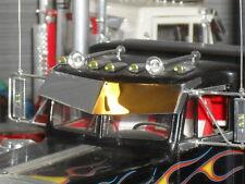 Big V Drop Visor for Conventional Peterbilt Kenworth-1/25 Revell AMT