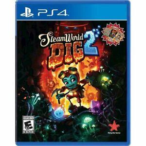 SteamWorld Dig 2 (Sony PlayStation 4, 2018) NEW