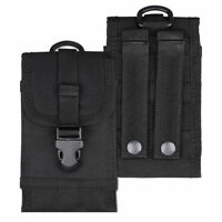 Tactical Military Molle Cell Phone Pouch Case Belt Bag Smartphone