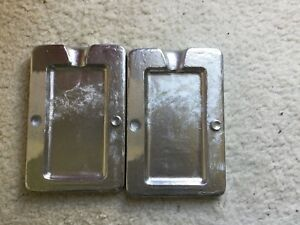 Scuba Divers weight mould , pocket type 600gm