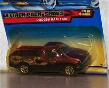 1999 Hot Wheels Dodge Ram 1500  Pick Up Truck DODGE EMBLEM on Back of CARD