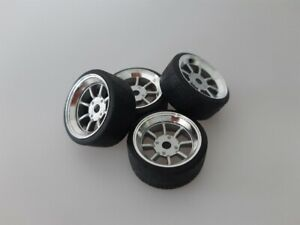 1:18 Scale WATANABE 16 INCH TUNING WHEELS,  NEW DESIGNED!!