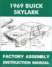1969 Buick Skylark Special and GS Assembly Manual 69 Gran Sport 350 400 Factory