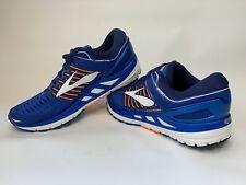 NEW Brooks Transcend 5 V Blue Orange White Men Running Shoes Sneaker SIZE 8.5