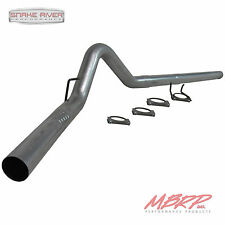 "MBRP 4"" FILTER BACK EXHAUST 2008-10 FORD F250 F350 6.4L DIESEL NO MUFFLER S6242P"
