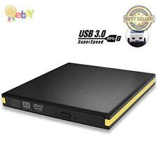 USB 3.0 External DVD Drive, BEVA Portable CD DVD Drive Player External Burner Re